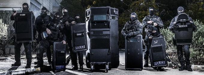 bouclier balistique police